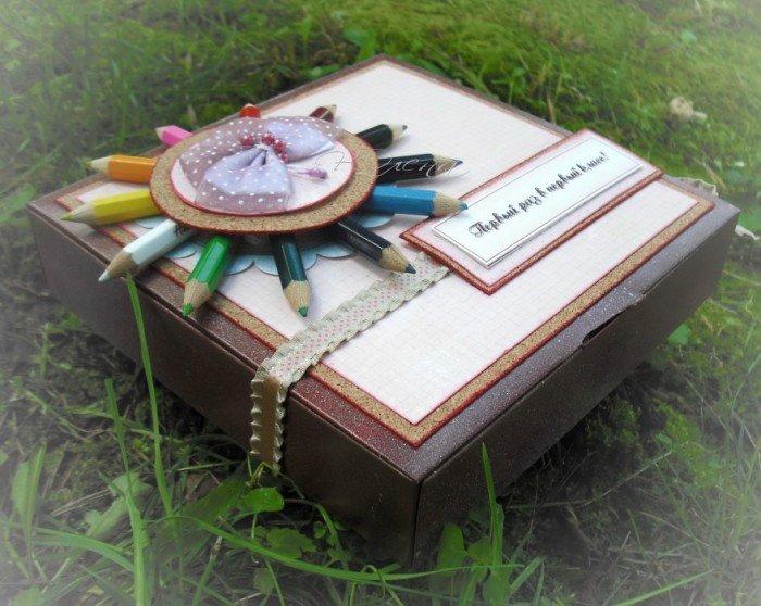 Подарки первокласснику на 1 сентября своими руками