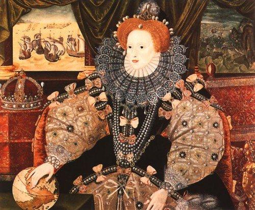Елизавета i 1533 1603 королева англии и